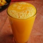 Orangen-Mango-Saft
